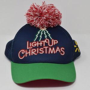 Light Up Christmas Walmart Snapback Trucker Cap